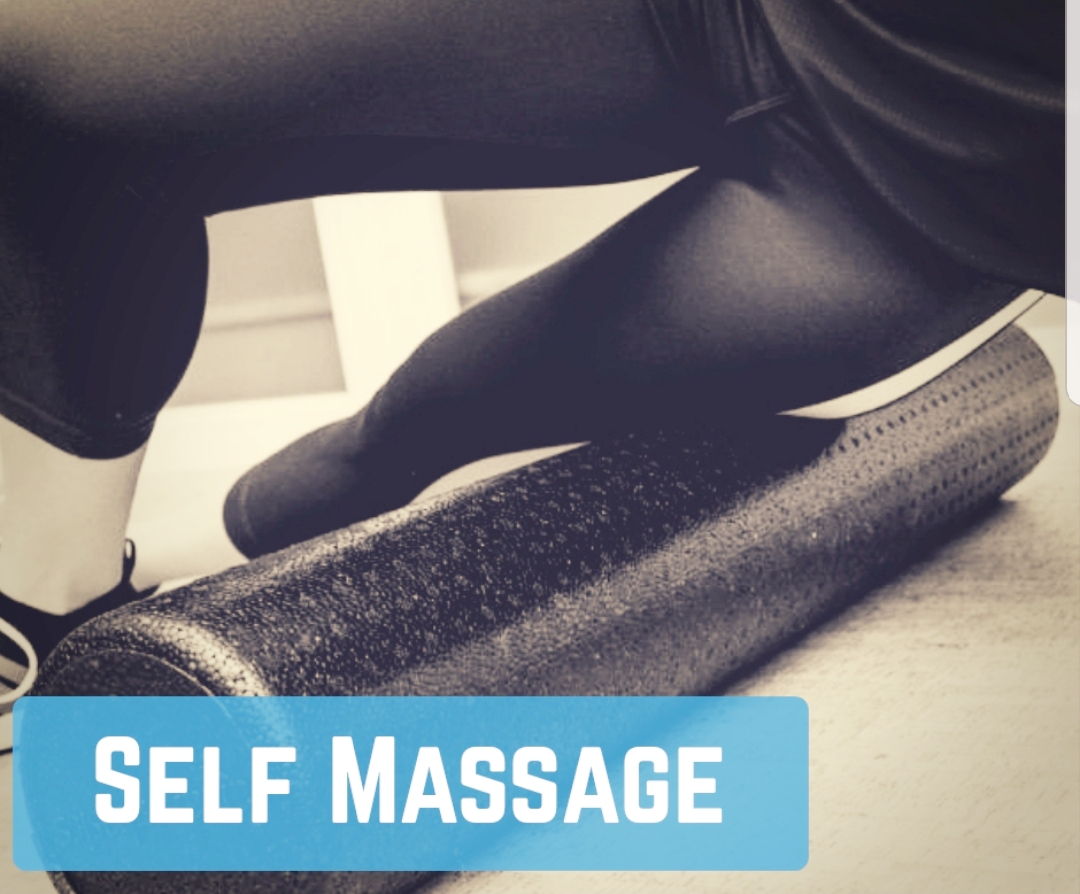 Image-of-a-woman-on-her-side-using-a-foam-roller-to-apply-soft-tissue-release-to-her-leg