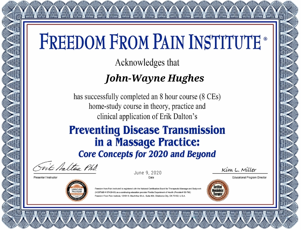 Image-of-certificate-of-preventing-disease-transmission-in-massage-practice